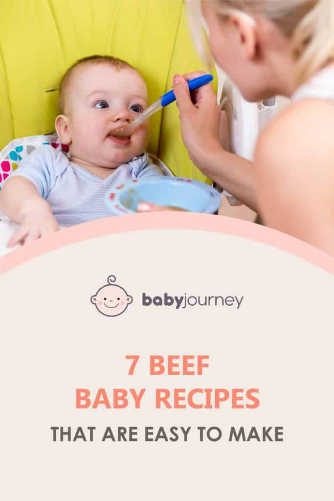 7 Beef Baby Recipes That are Easy to Make | Baby Journey