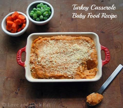 Turkey Casserole Baby Food Recipe