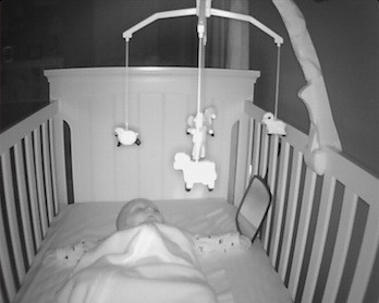 Most baby monitors come with night vision feature for a more convenient monitoring in the dark. - Best Baby Movement Monitor Review | Baby Journey