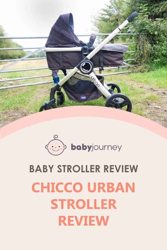 Chicco Urban Stroller Review | Baby Journey