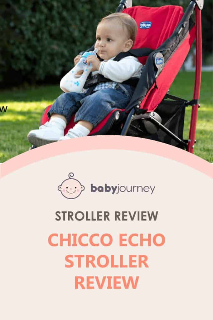 Chicco Echo Stroller Review   Baby Journey