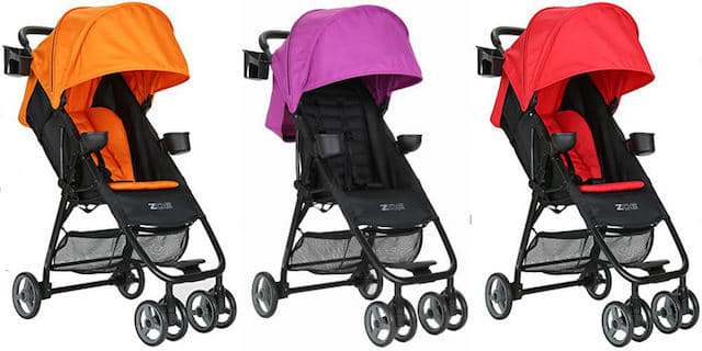 The Zoe XL1 Stroller comes in various colors. - Zoe Umbrella XL1 Single Stroller Review | Baby Journey
