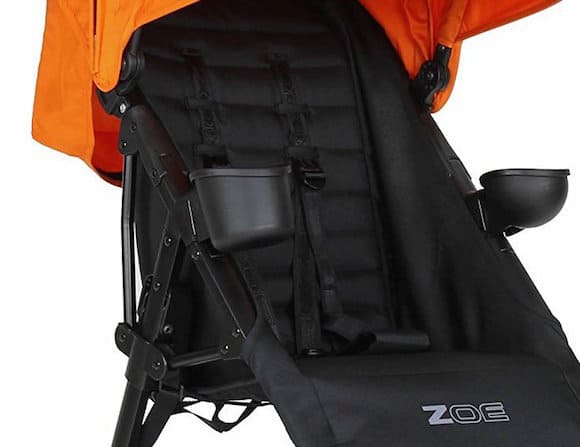 The Zoe XL1 has well air-ventilation seat design.- Zoe Umbrella XL1 Single Stroller Review | Baby Journey