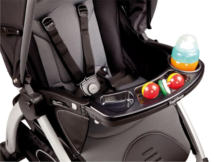 he thick and soft cushion provided for Peg Perego Triplette SW Stroller ensure that your baby could sit comfortably even in a long ride. - Peg Perego Triplette SW Stroller Review | Baby Journey