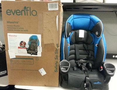 Evenflo Maestro Child Booster Car Safety Seat In Thunder