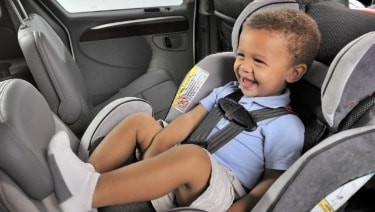 The rear-facing position is the configuration of choice for parents with infants and young toddlers.
