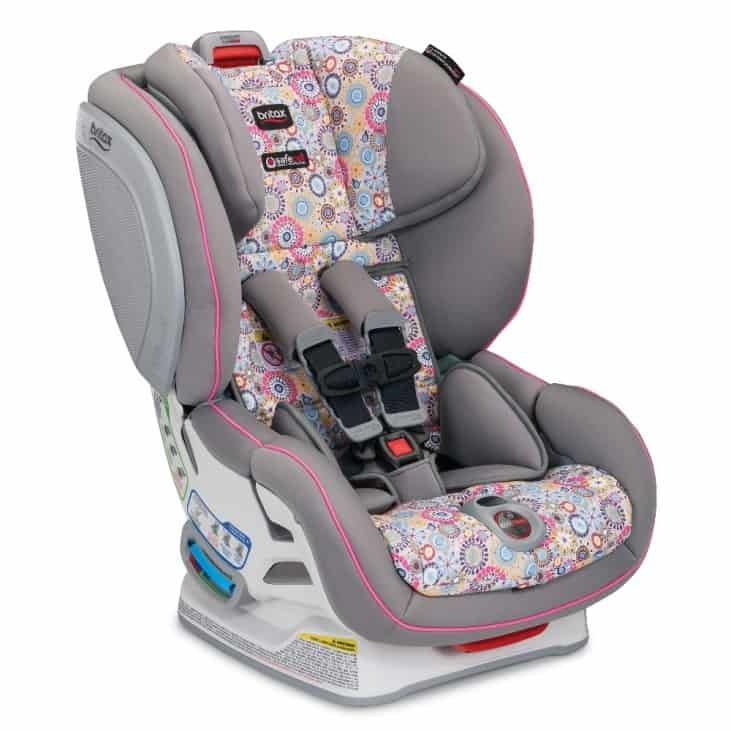 This Britax car seat comes in a variety of colorways to suit your taste and preferences.