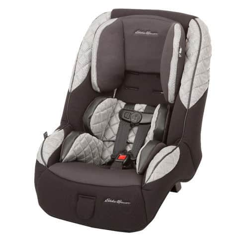 I found this Eddie Bauer car seat to be one of the more stylish designs on the market.