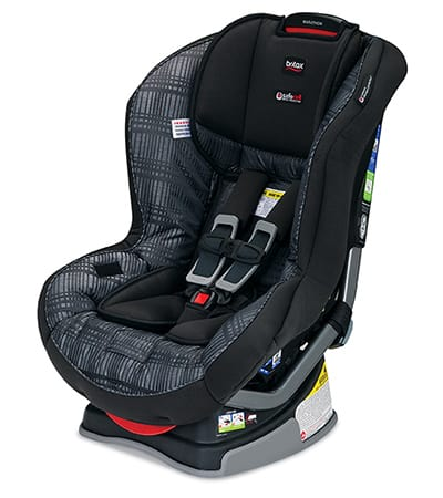The Marathon features one of the most robust car seat bases I've seen