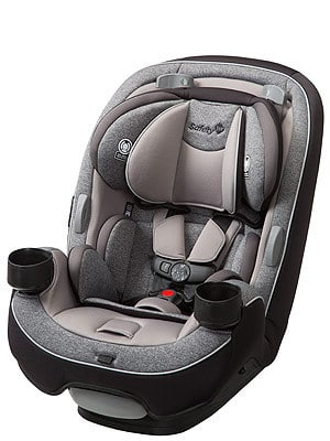 Lots of side impact panels help make sure your baby is kept injury free even during a serious vehicular accident.
