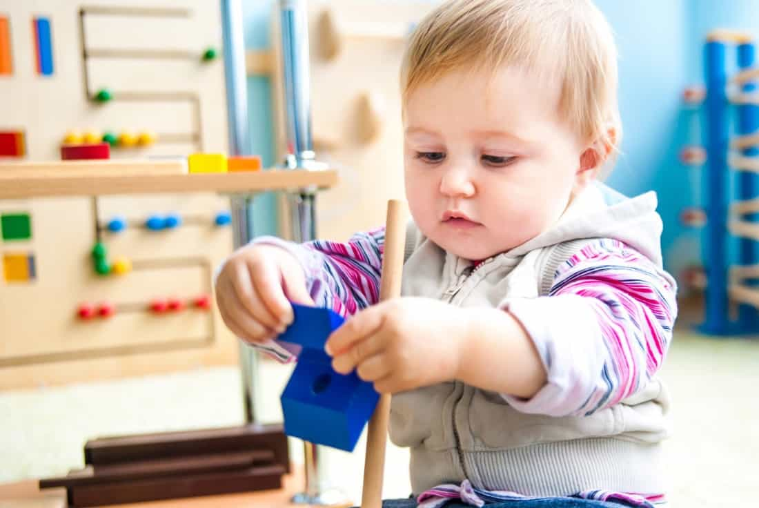 "Babies actually learn more from playing alone or with others than they do from so-called ""educational"" TV"