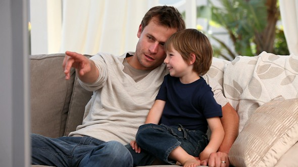 Toddlers can learn more from watching interactively with parents