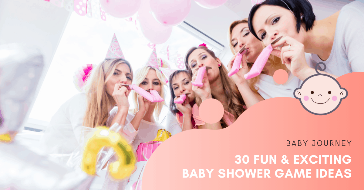 30 Fun & Exciting Baby Shower Game Ideas | Baby Journey