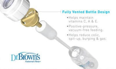 Venting systems is the key to choose Best slow flow bottles for newborns