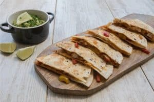 ​ Chicken quesadillas. -Baby-Led Weaning Chicken Recipes | Baby Journey