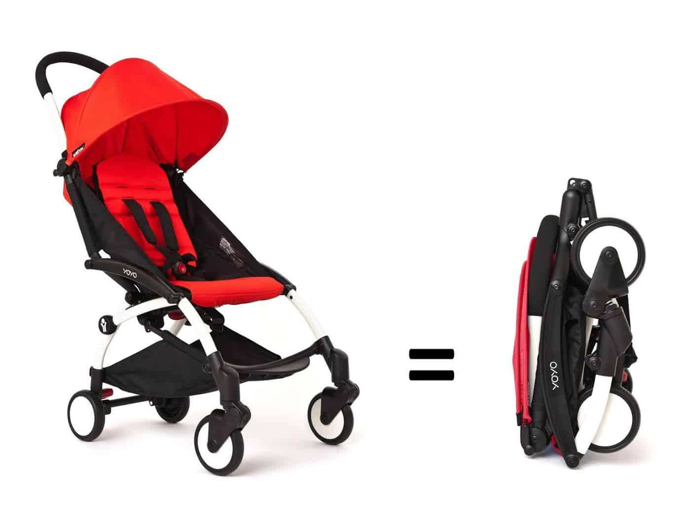 Your stroller should fold up small enough that it doesn't need to be dragged.  - Best Stroller for a Walk-up Apartment | Baby Journey