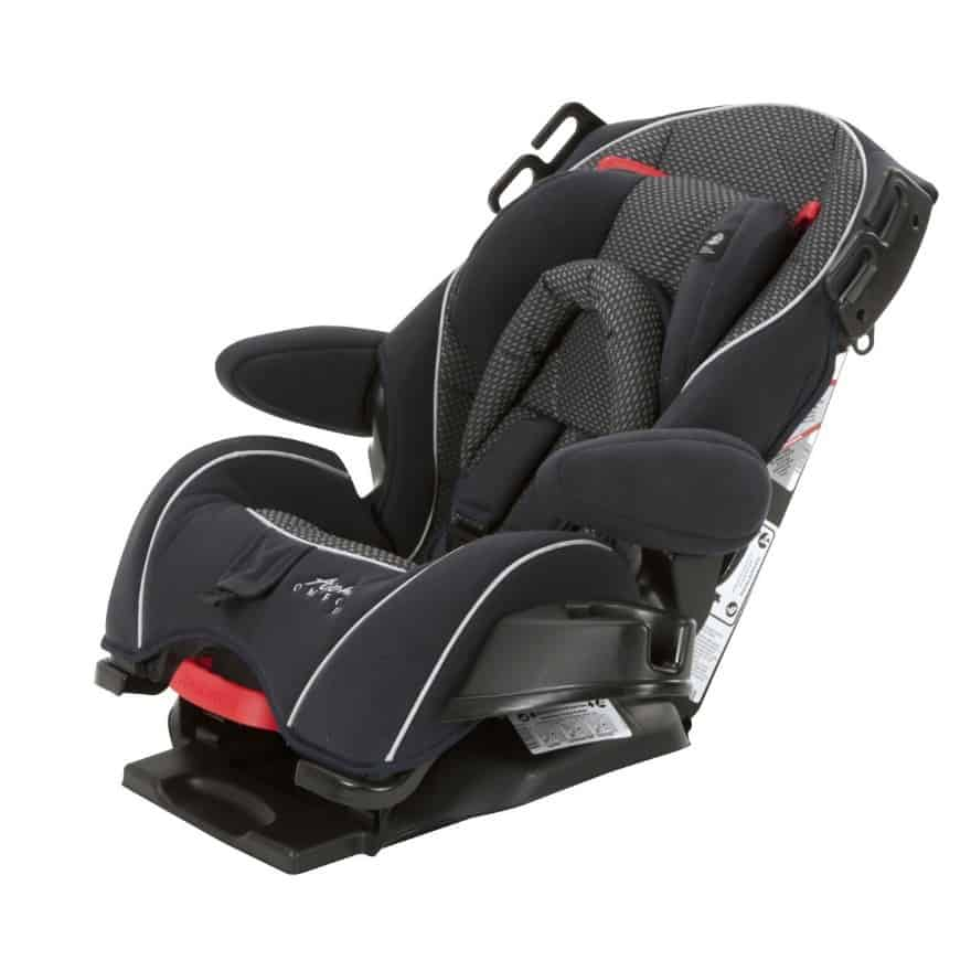 The Alpha Omega Elite reclines to three possible positions. - Safety 1st Alpha Omega Elite Car Seat In-Depth Review | Baby Journey