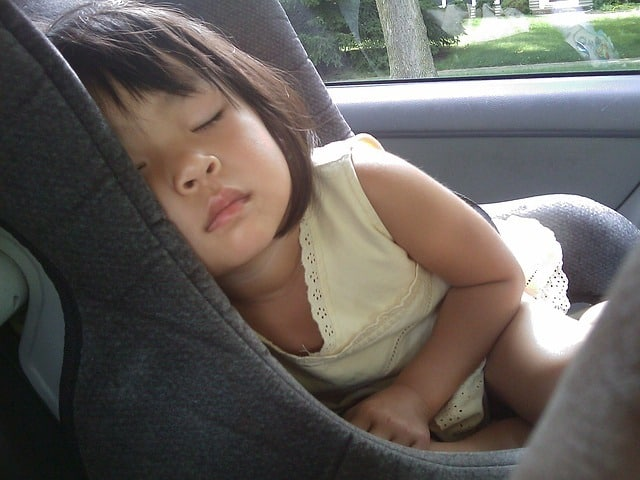 Safety should also be first and foremost on your mind when buckling up your child (Source: Pixabay)
