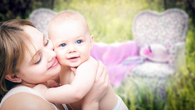 Babies' skin is much more sensitive than an adult's (Source: Pixabay)