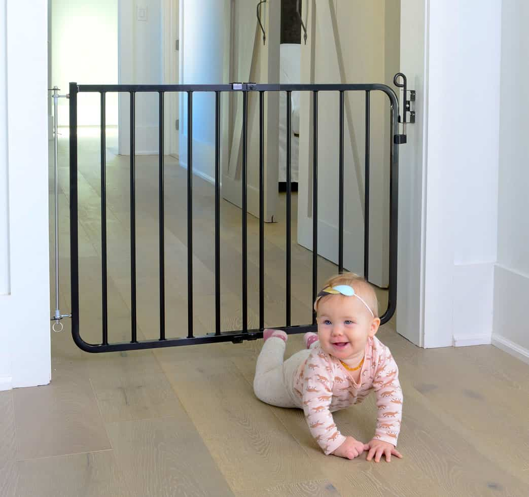 Baby gates should protect your baby from ALL dangerous areas in the house (Source: Cardinal Gates)