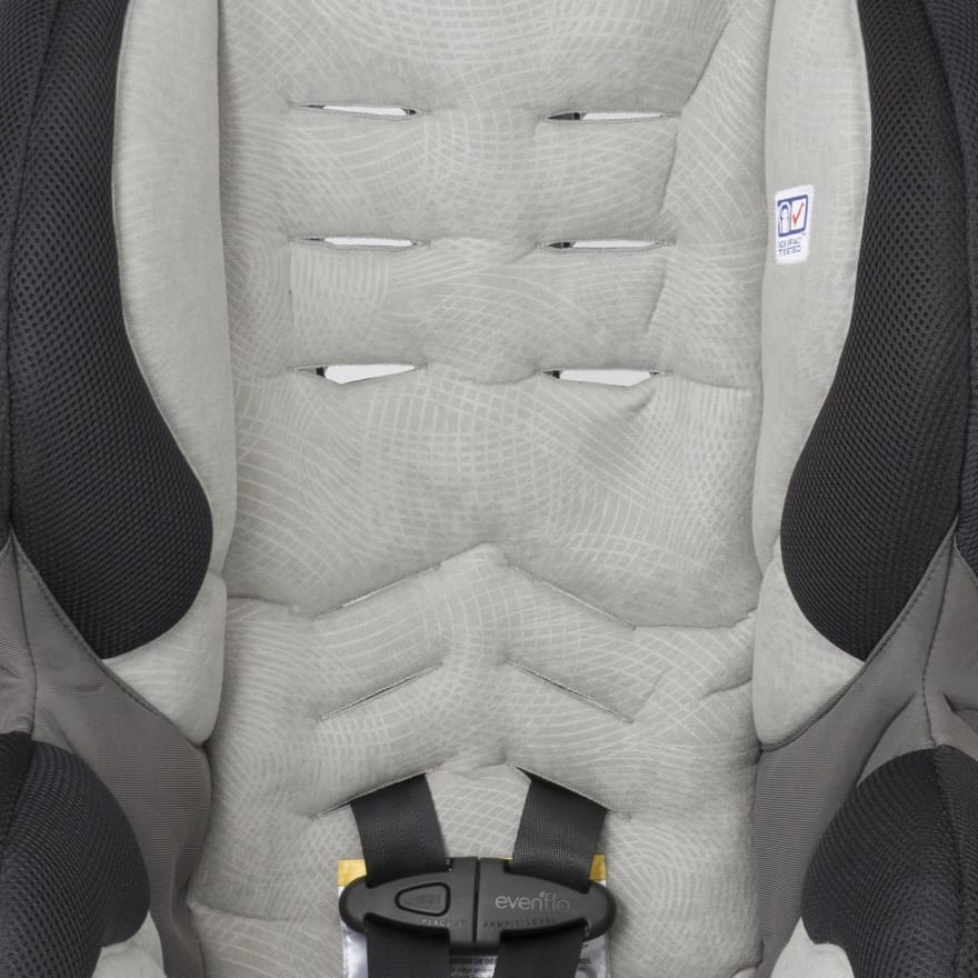 A five-point harness and triple layer protection keeps your child safe (Source: Ideal Baby)