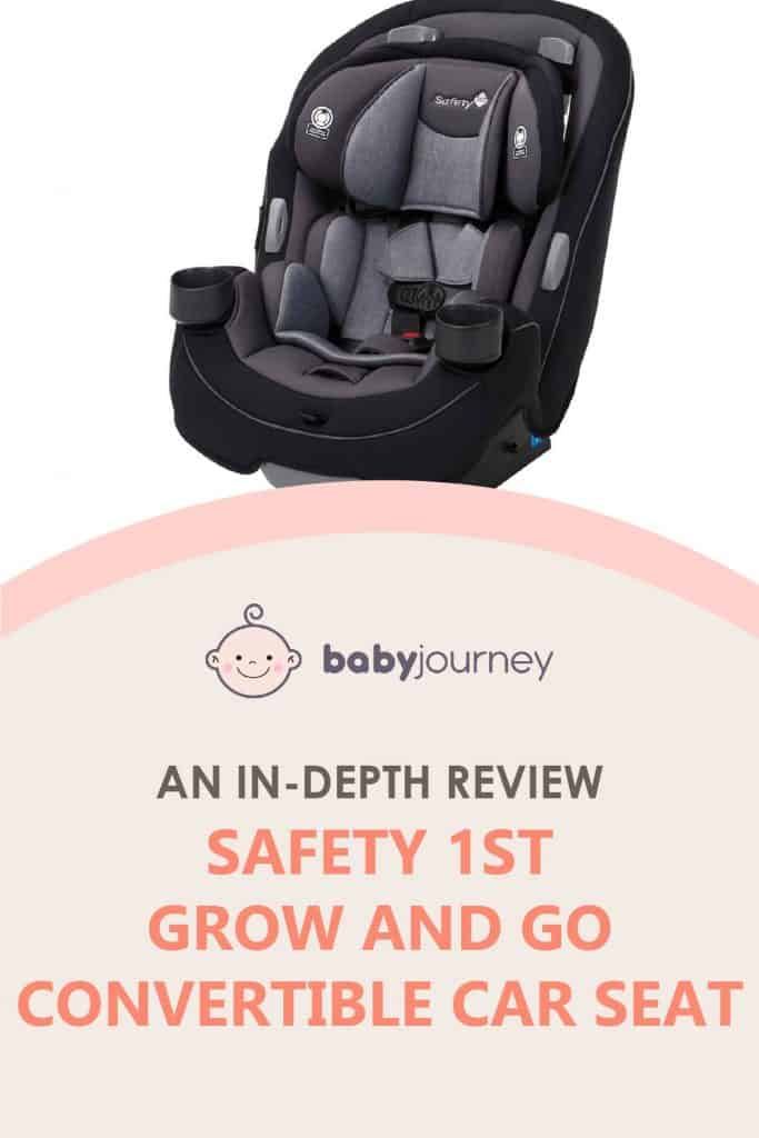 Safety 1st Grow & Go Convertible Car Seat Review   Baby Journey