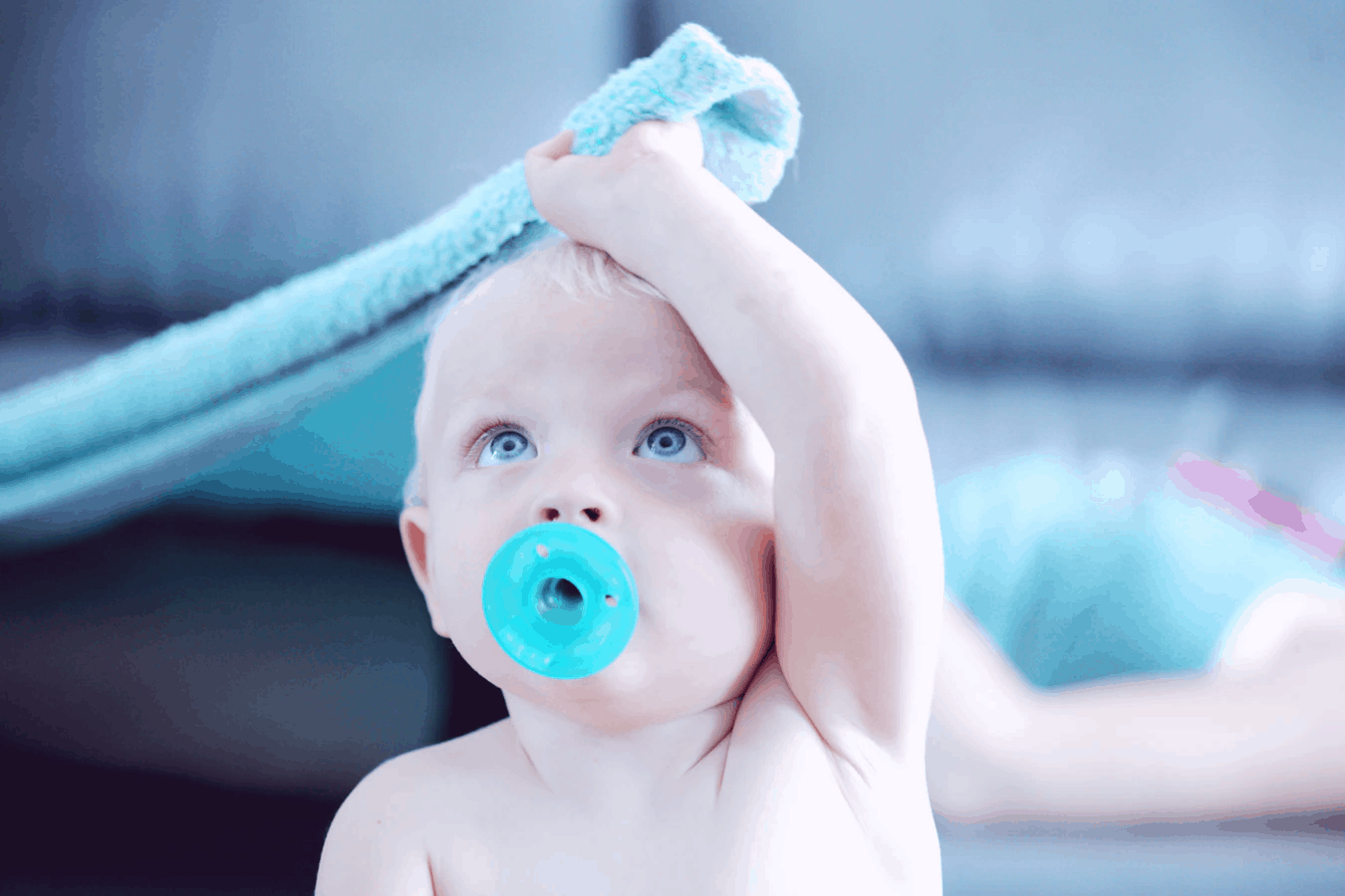 Pacifiers can help babies get used to it, thus lessening their tongue-tied behavior