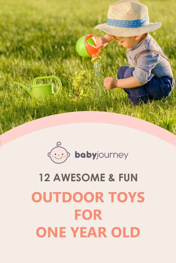 12 Awesome & Fun Outdoor Toys for One Year Old   Baby Journey