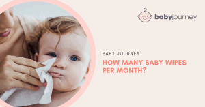 How Many Baby Wipes Per Month | Baby Journey