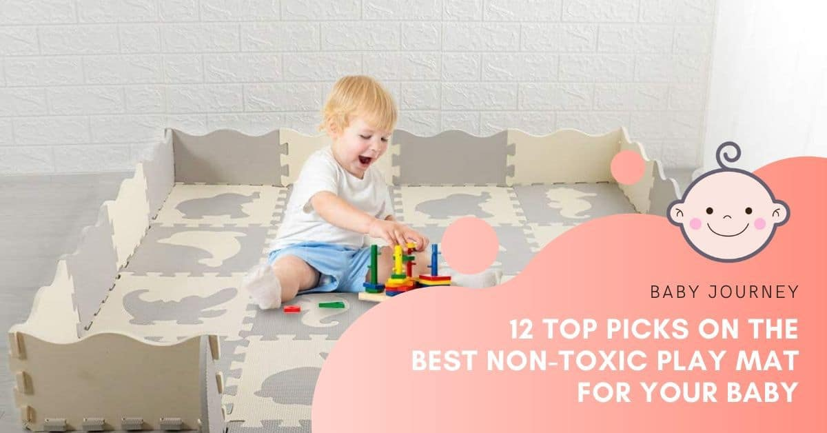 Non-toxic Play Mat | Baby Journey