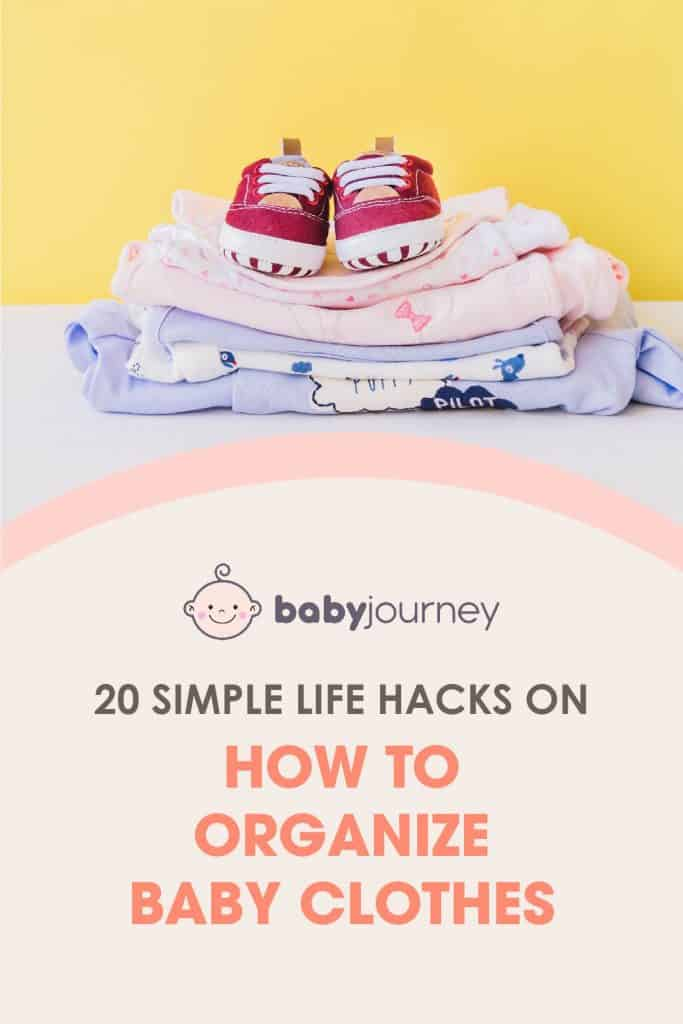 How to Organize Baby Clothes | Baby Journey