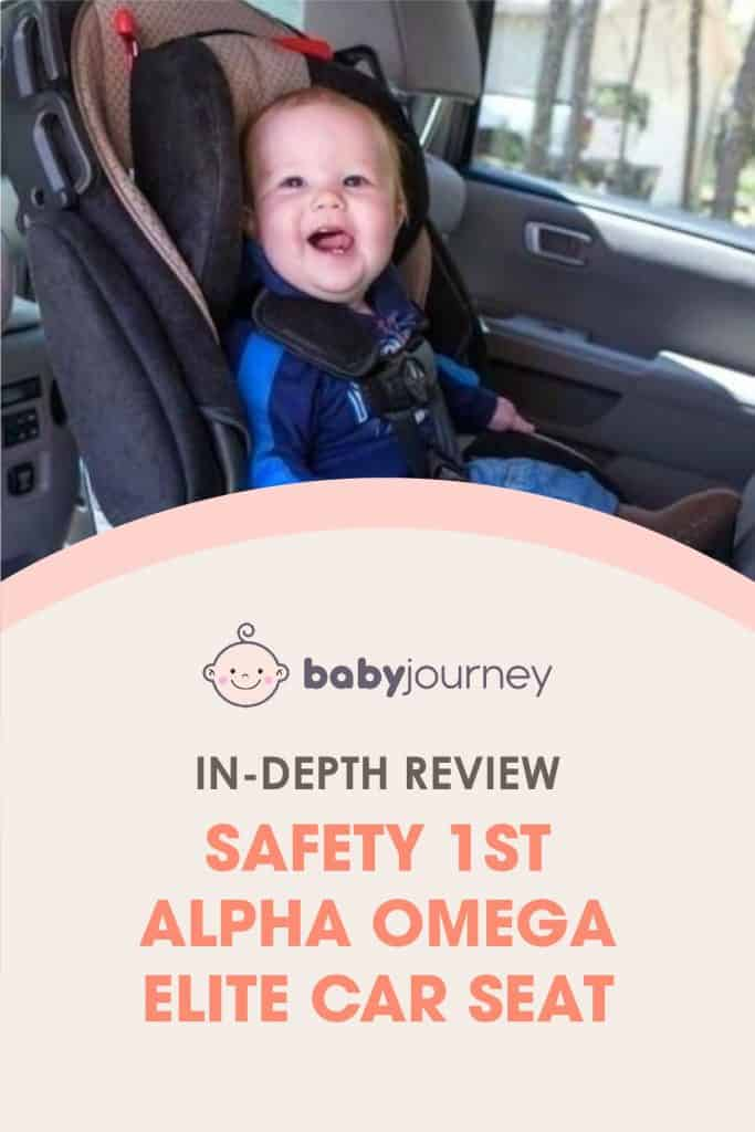 Safety 1st Alpha Omega Elite Car Seat In-Depth Review | Baby Journey