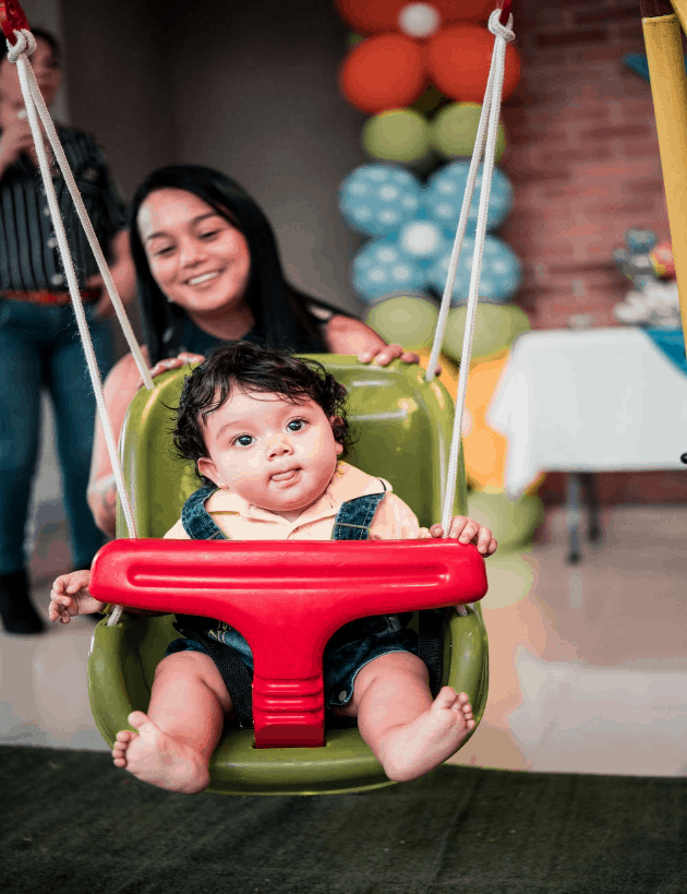 Choose a best baby swing that's ideal for your baby according to your baby's age. - Best Baby Swing | Baby Journey
