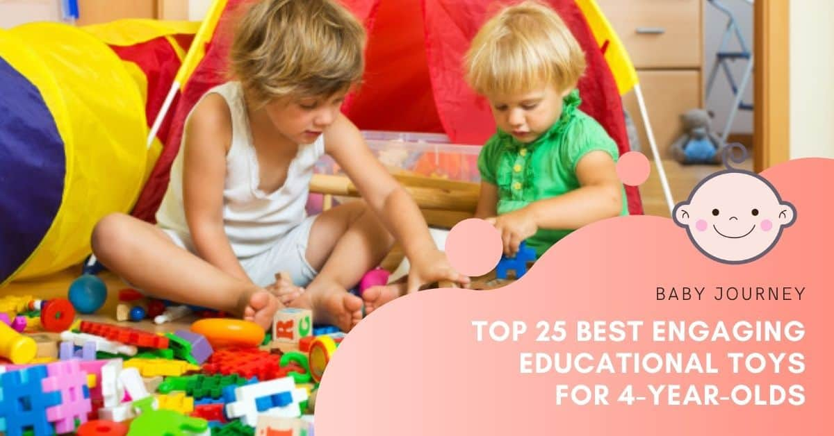 Educational Toys for 4-Year-Olds | Baby Journey