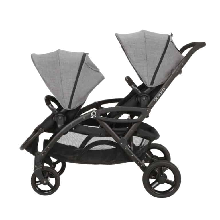 Options Elite Double Stroller | Twin Strollers | Tandem Stroller ...
