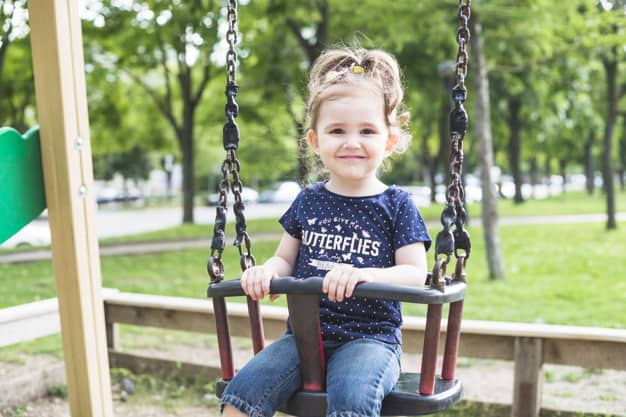 An outdoor baby swing is usually made sturdier and more durable to weather outside elements. - Best Outdoor Baby Swing | Baby Journey