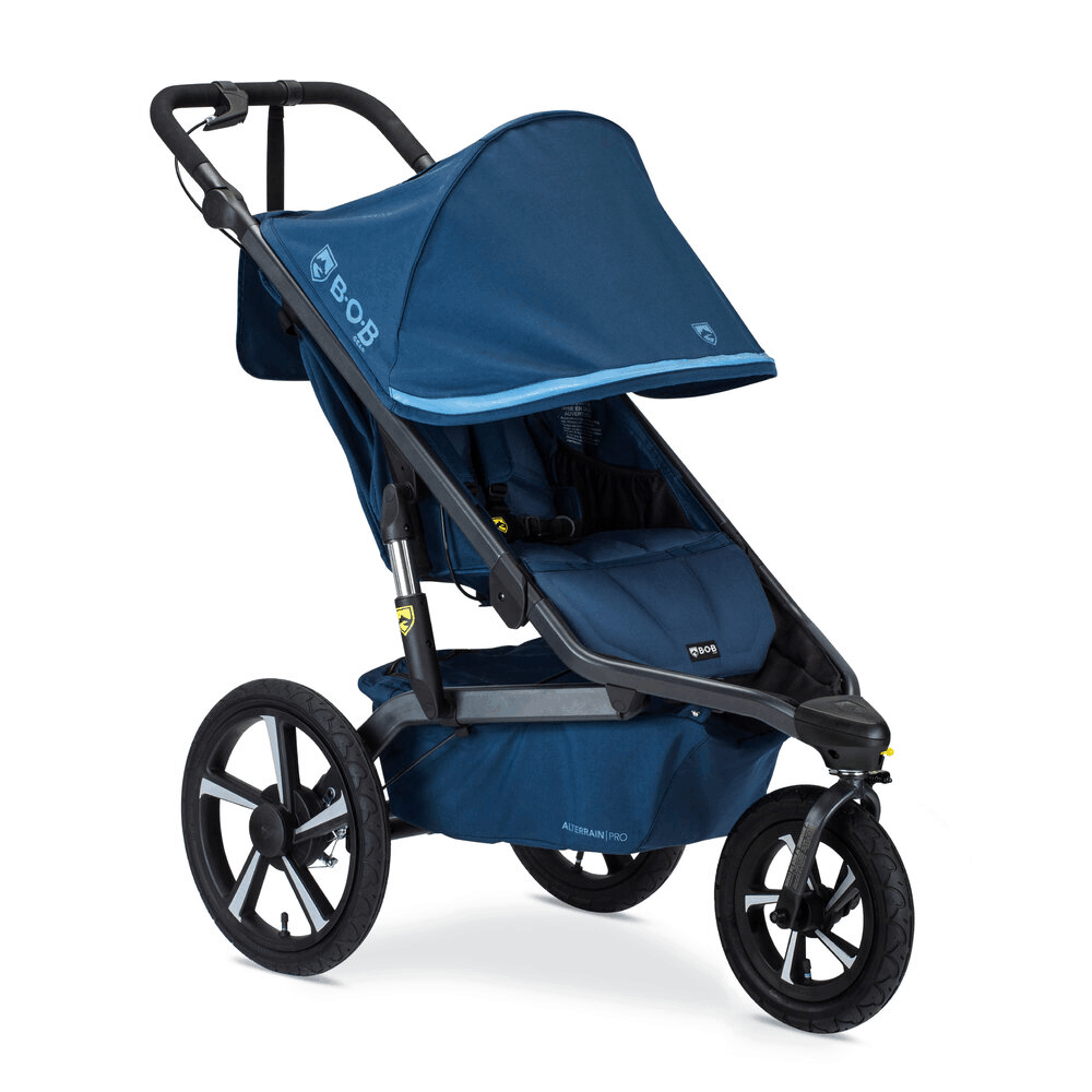 Large tires are a staple you will find in the best all-terrain stroller. - Best All Terrain Stroller   Baby Journey