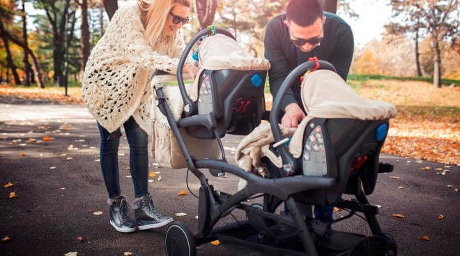 Having twins or two kids usually spell double trouble to parents. With the best affordable double stroller, it can become double the fun!  - Affordable Double Stroller Review - Best affordable Double Stroller | Baby Journey