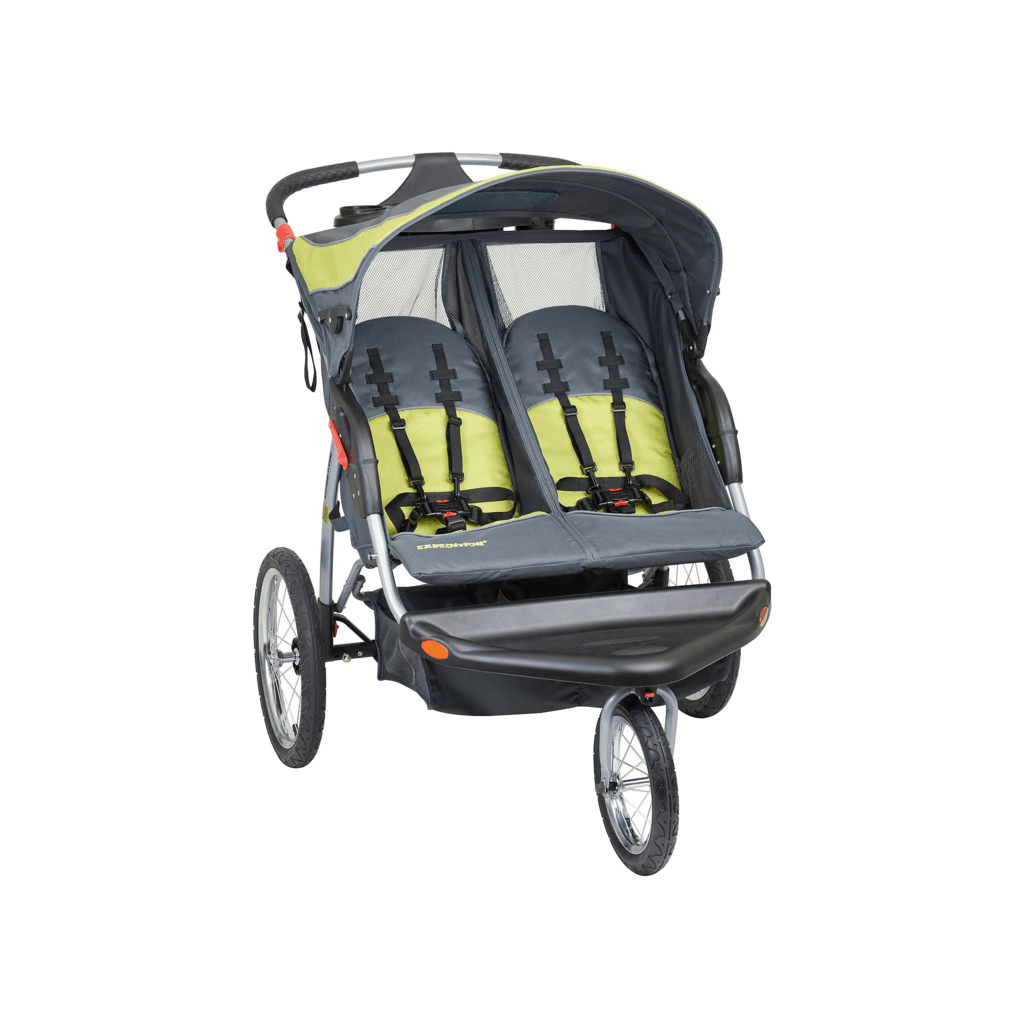 The best double stroller is one that offers a cozy and safe spot for each child. - Best Double Stroller | Baby Journey