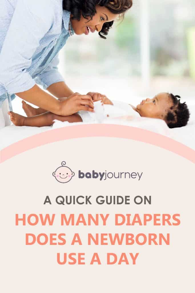 How Many Diapers Does a Newborn Use a Day | Baby Journey