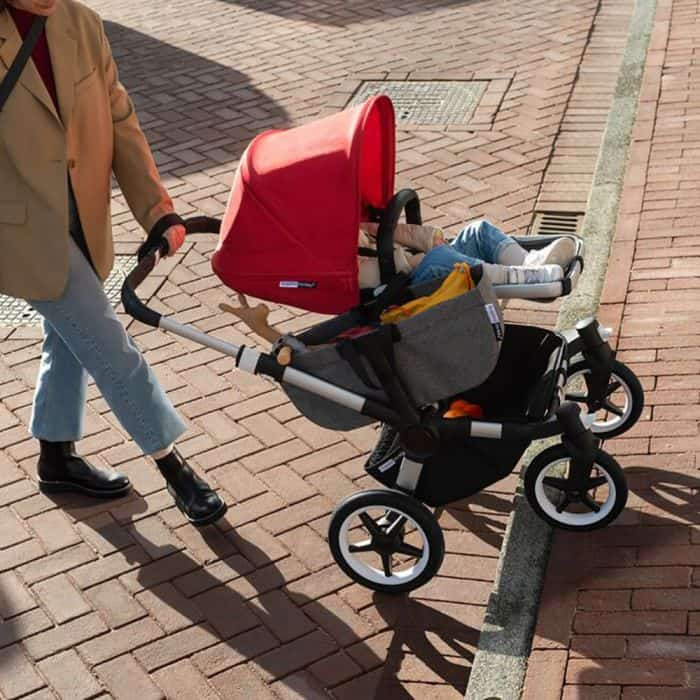 You can even singlehandedly use the Bugaboo Donkey 3 stroller without breaking much sweat. - Bugaboo Donkey Review   Baby Journey