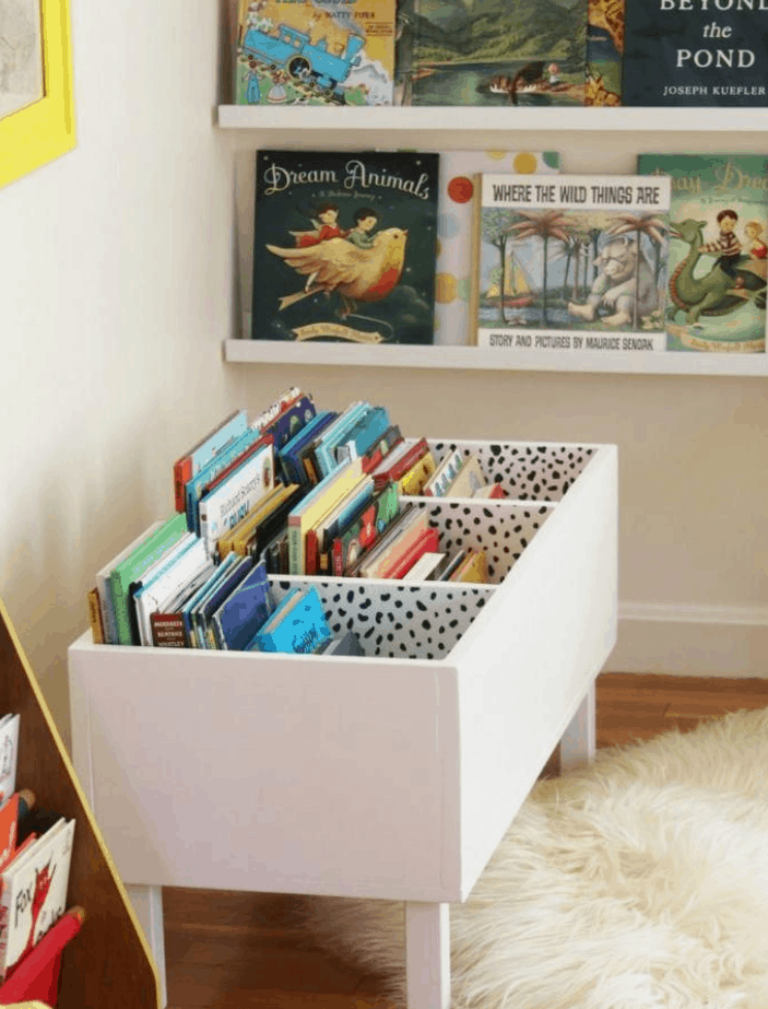 Elevated Book Storage