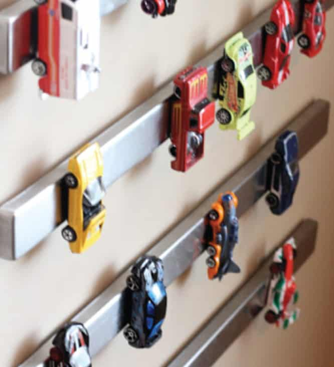 Magnetic Car Storage Strips