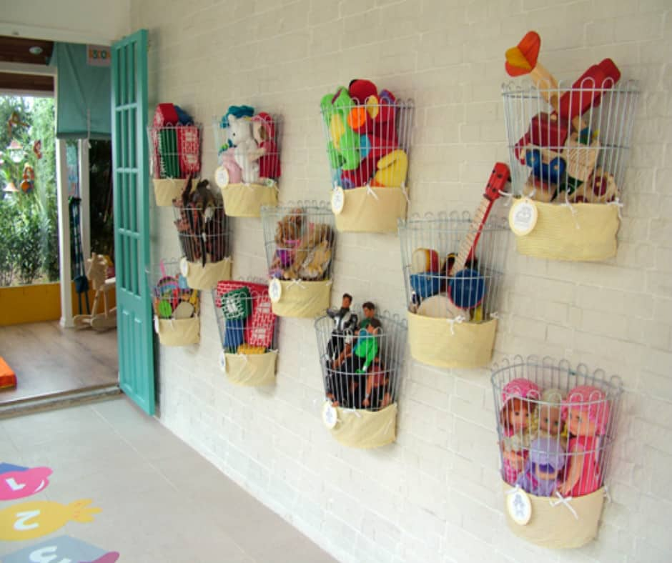 Organizing Planter Basket to Store Toys