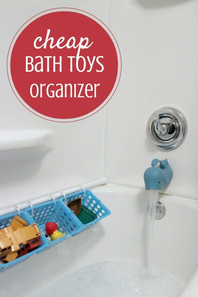 Budgeted Bath Toy Storage