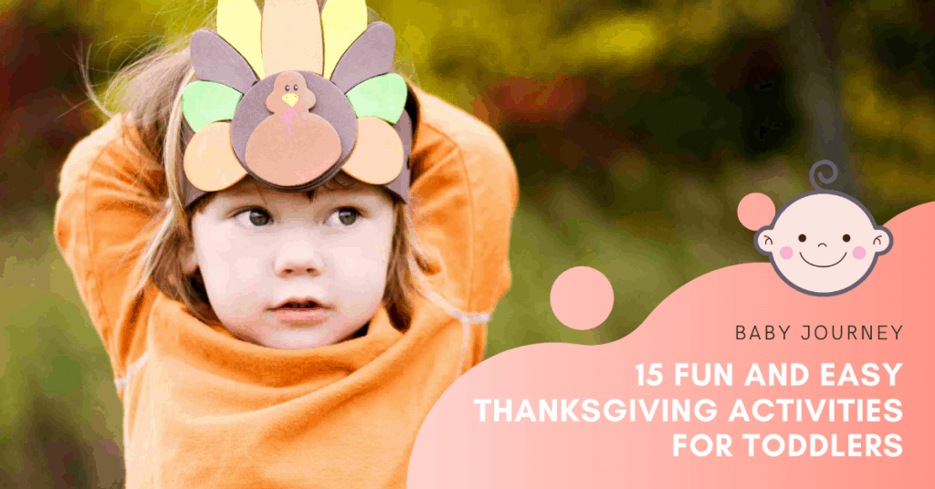 Thanksgiving Activities For Toddlers   Baby Journey