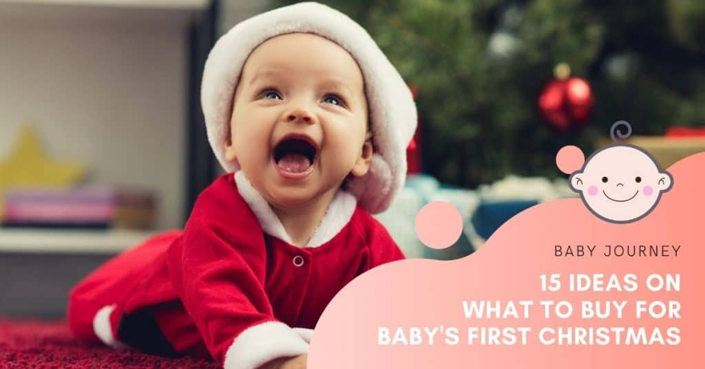 what to buy for baby's first christmas