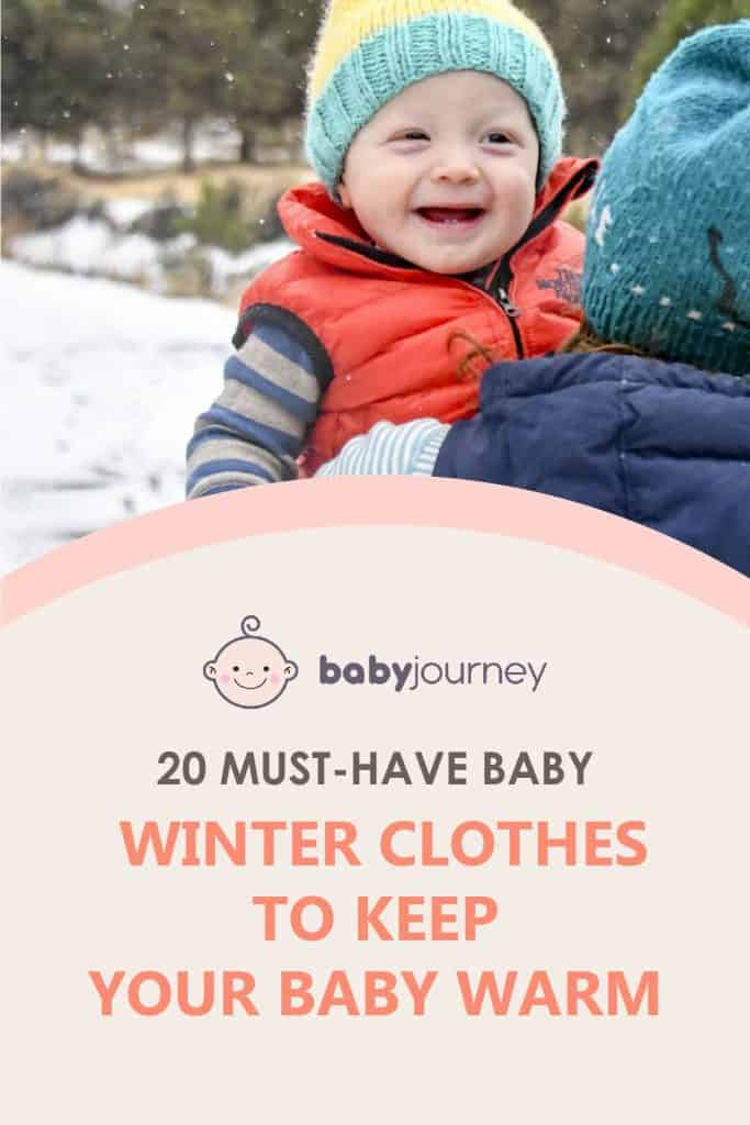 Baby Clothes for Winter | Baby Journey