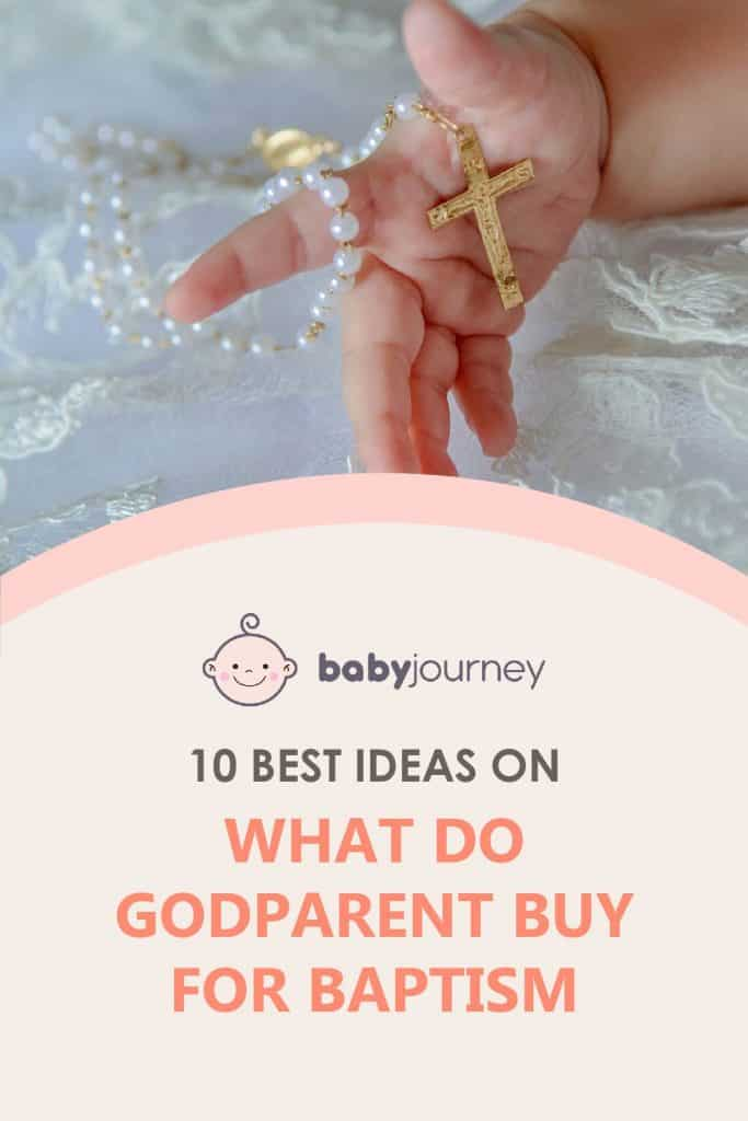 what do godparents buy for baptism