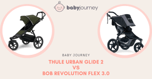 Thule Urban Glide vs Bob Revolution | Baby Journey
